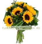 Buchet floarea soarelui