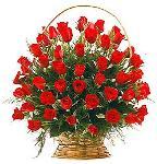 Cos cu trandafiri